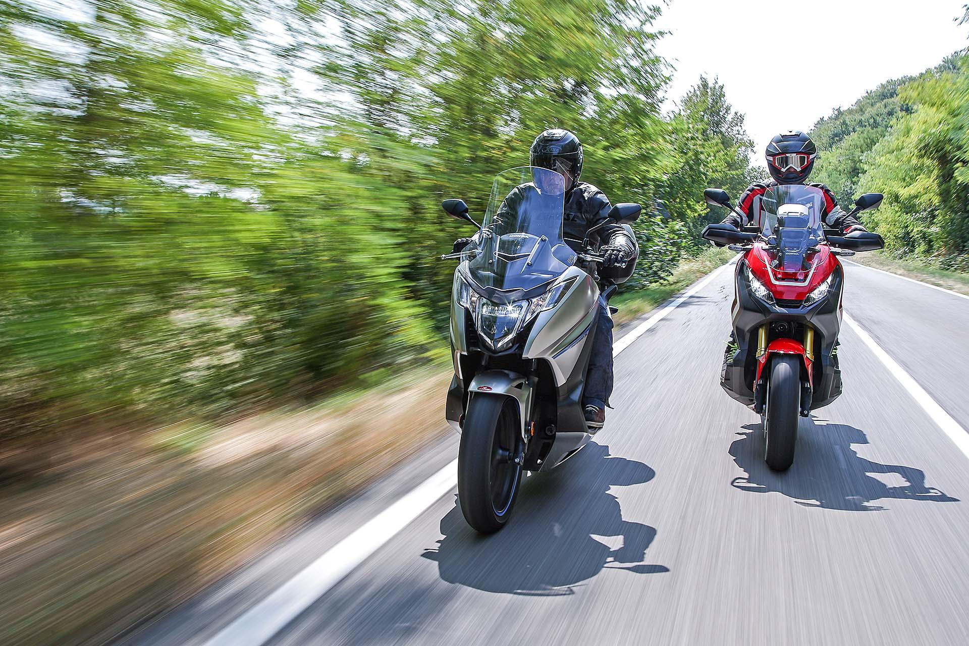 Honda X-ADV e Honda Integra, sfida nel nome dell'originalità