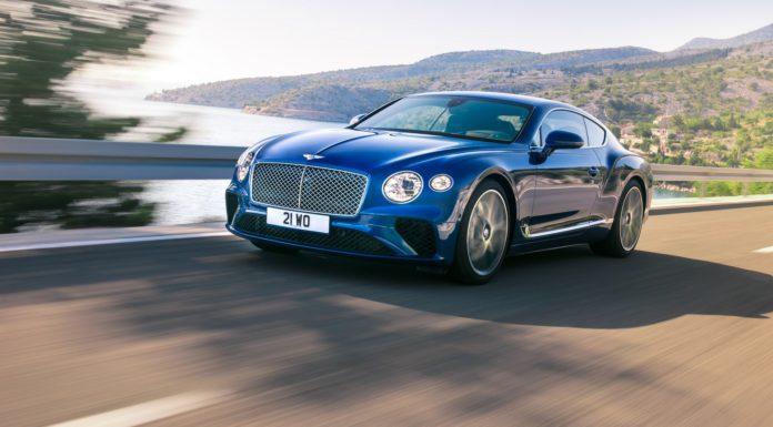 Bentley Continental GT 2018 dinamica