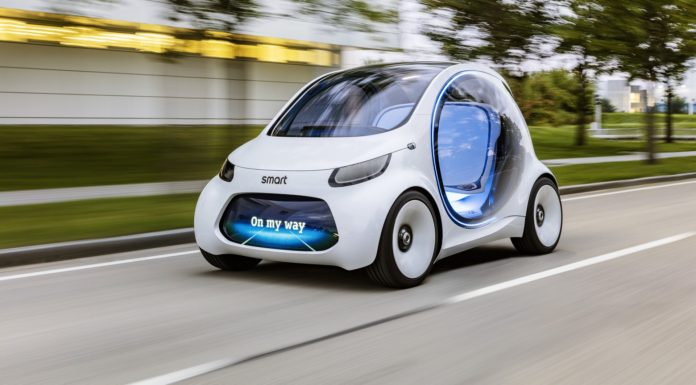 smart Vision EQ fortwo dinamica