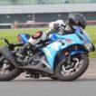 Suzuki GSX-R 125 Movimento pista piega