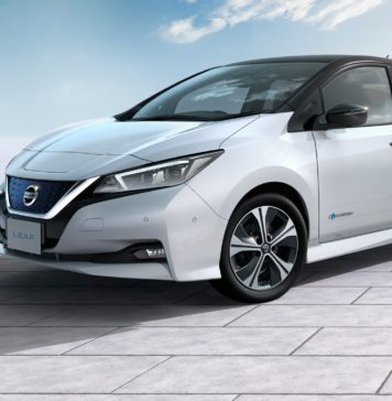 Nissan Leaf 2018 statica