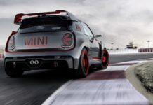 MINI John Cooper Works GP Concept statica