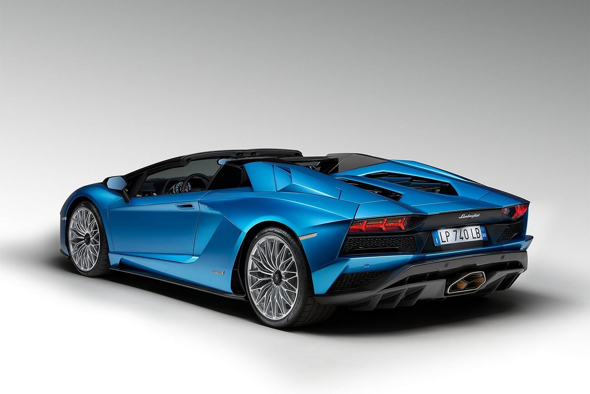 Lamborghini Aventador S Roadster statica