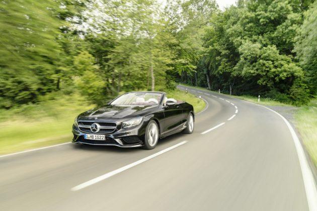 Mercedes-Benz Classe S Cabrio 2018 dinamica