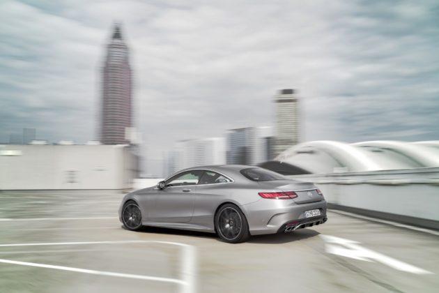 Mercedes-Benz Classe S Coupé 2018 statica