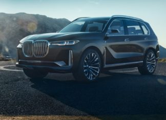 BMW Concept X7 iPerformance statica