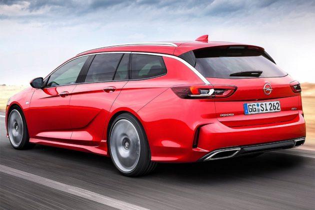 Opel Insignia GSi Sports Tourer dinamica