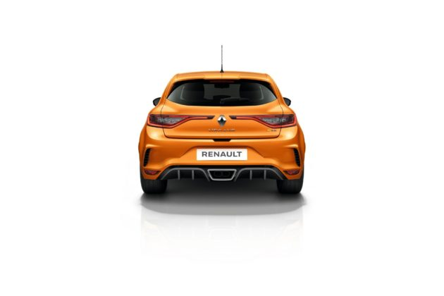 Renault Mégane RS 2018 statica