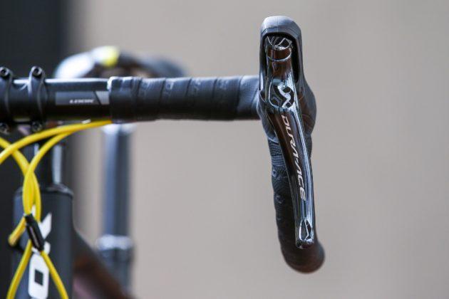Bici Look 785 Huez rs, particolare manubrio