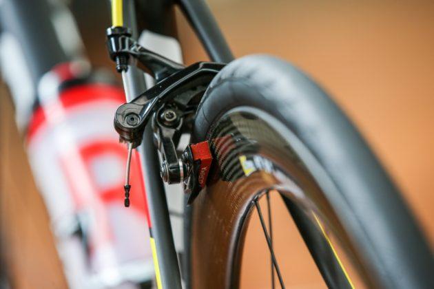 Bici Look 785 Huez rs, particolare freno