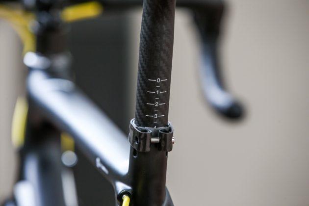 Bici Look 785 Huez rs, particolare telaio