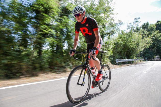 Bici Look 785 Huez rs, movimento salita