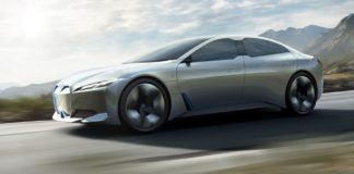 BMW i Vision Dynamics Concept dinamica