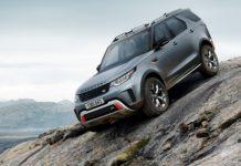 Land Rover Discovery SVX dinamica