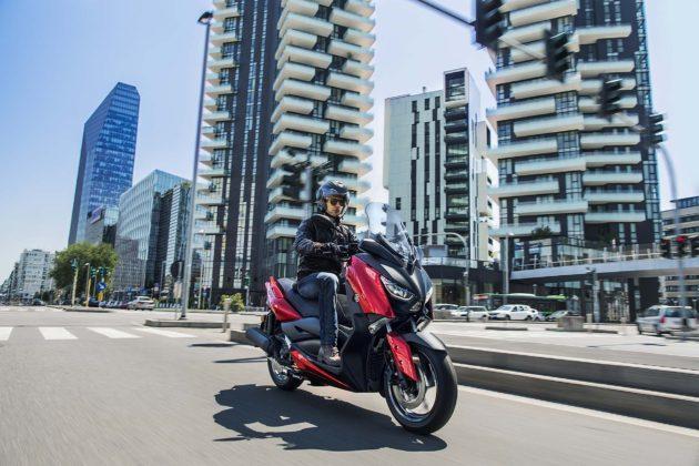 Yamaha X-MAX 125 2018 dinamica