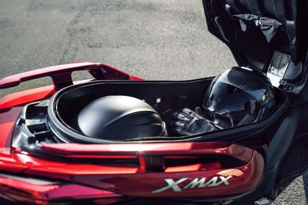 Yamaha X-MAX 125 2018 sottosella