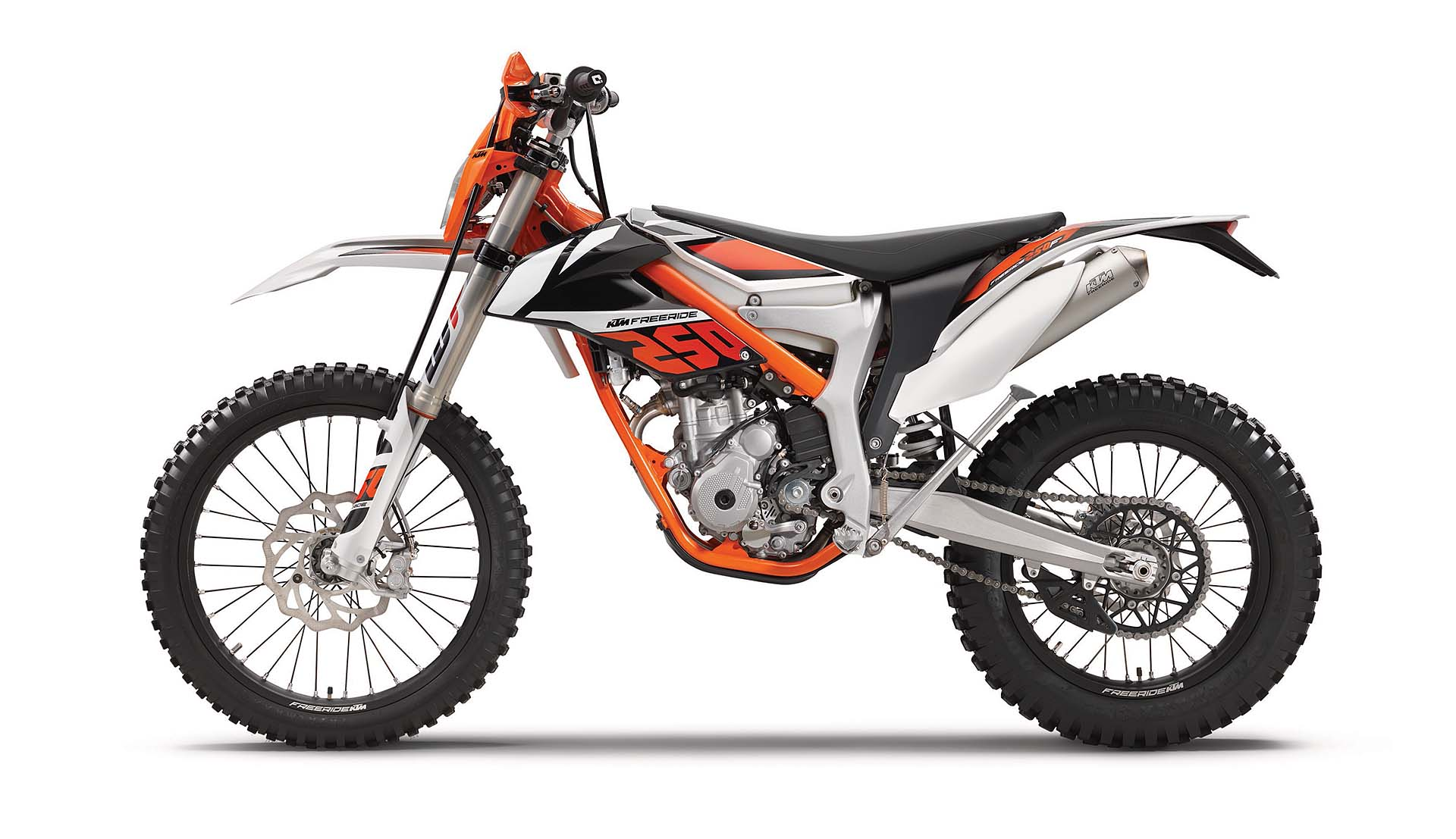 KTM Freeride 250 F laterale