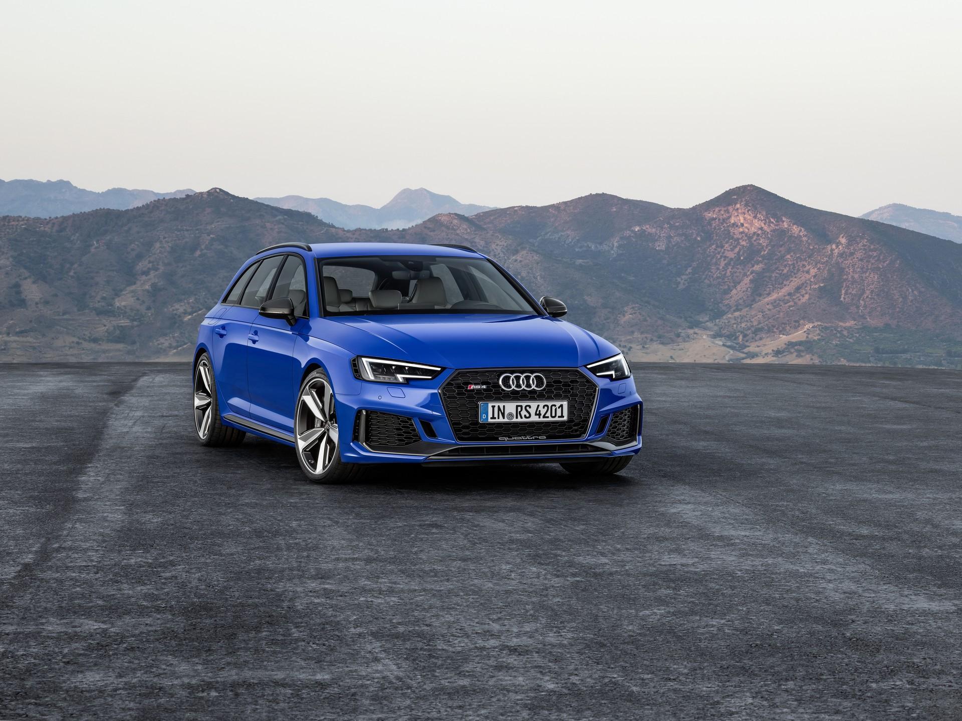 Audi Rs4 Avant 2018 Arriva La Station Sportiva Compatta