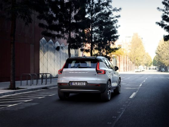 Volvo XC40 dinamica