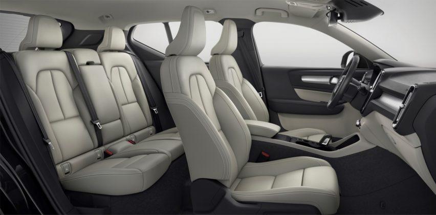 Volvo XC40 interni