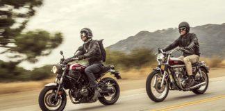 Yamaha XSR700 e XSR900 - dinamica