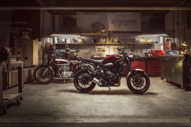 Yamaha XSR700 e XSR900 - garage