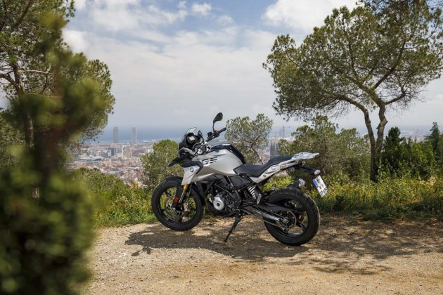 BMW G 310 GS 3/4 posteriore
