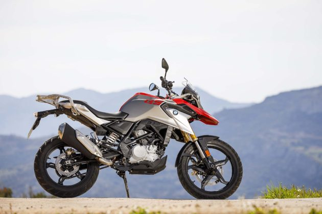 BMW G 310 GS laterale dx