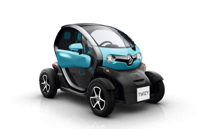RENAULT TWIZY - MODEL YEAR 2017 statica
