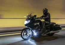 BMW K 1600 B - tunnel