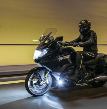 BMW K 1600 B - tunnel