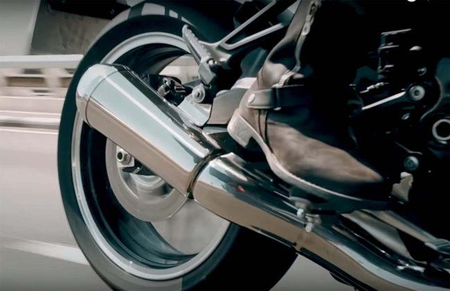Kawasaki Z900RS scarico