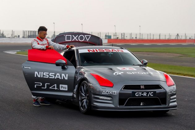 Nissan GT-R Game Controller