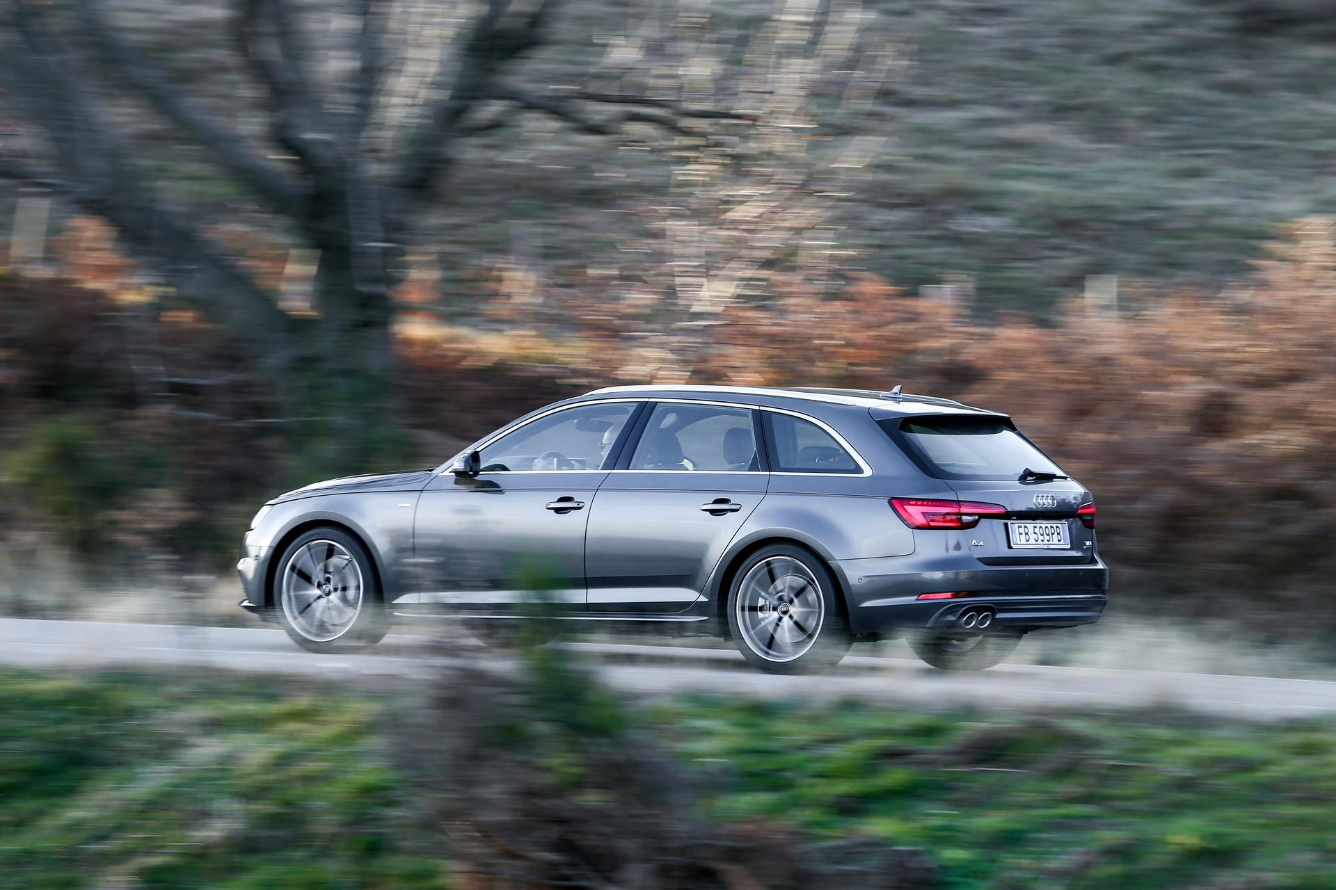 Audi A4 Avant dinamica