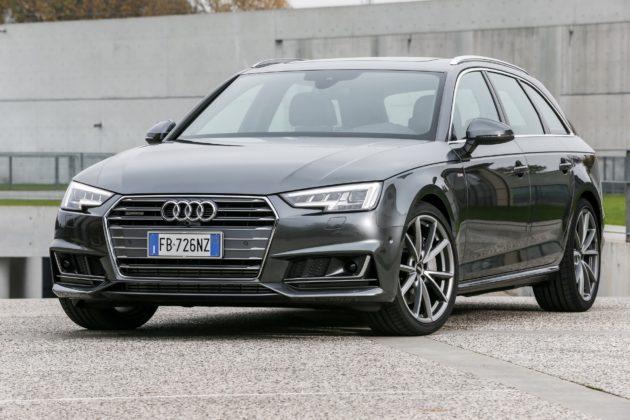 Audi A4 Avant statica