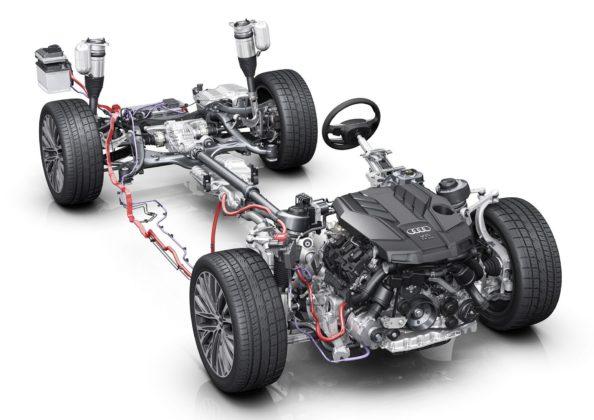 Audi A8 tecnologia