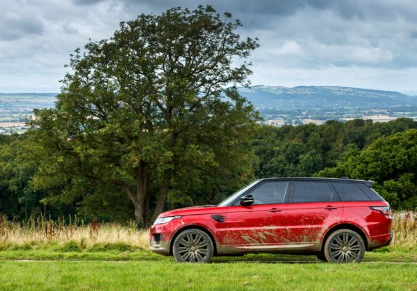 Range Rover Sport 2018 dinamica