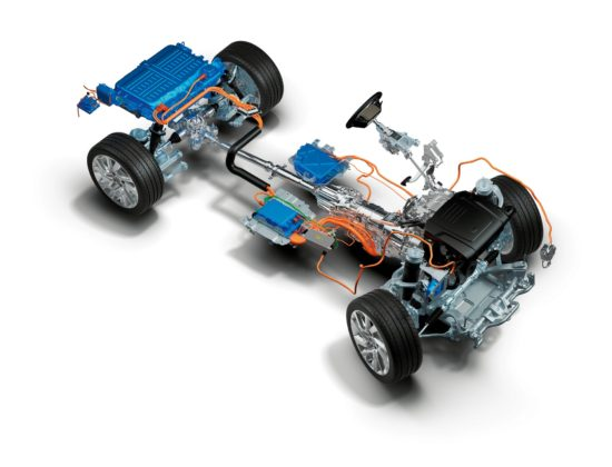 Range Rover Sport Phev 2018 tecnica