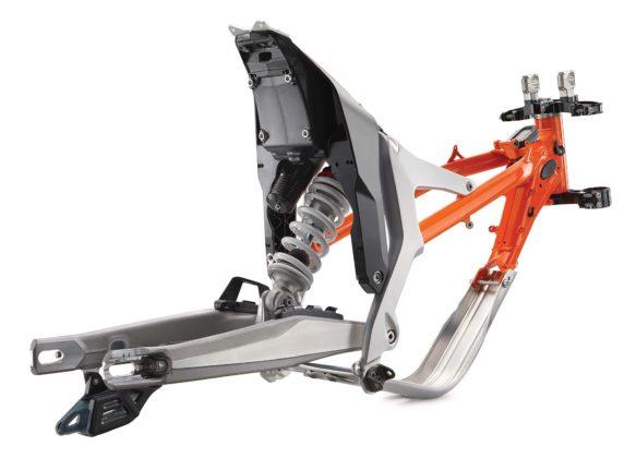 KTM Freeride E-XC - telaio