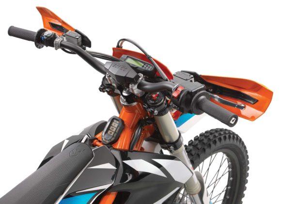KTM Freeride E-XC - manubrio
