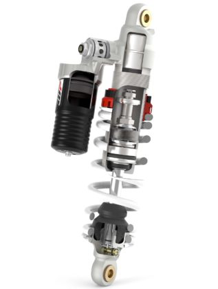 KTM Freeride E-XC - monoammortizzatore