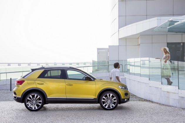 Volkswagen T-Roc statica
