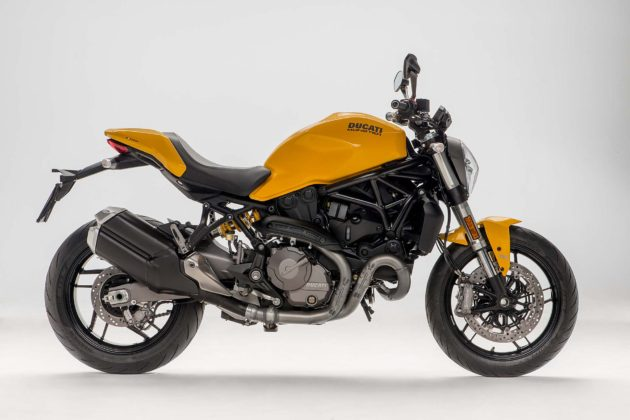 Ducati Monster 821 MY18 - laterale
