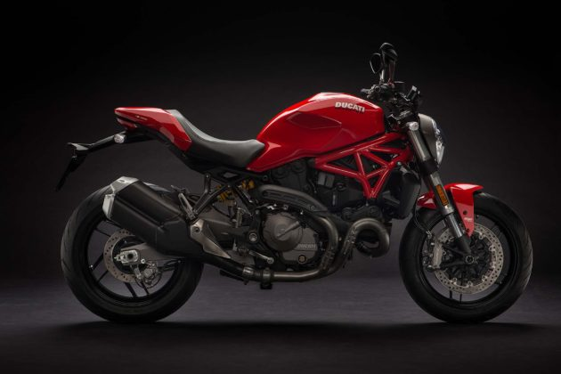 Ducati Monster 821 MY18 - laterale rossa