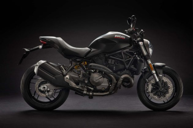Ducati Monster 821 MY18 - laterale nera