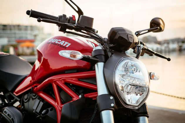 Ducati Monster 821 MY18 - rossa