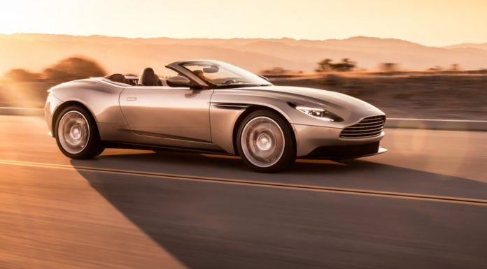 Aston Martin DB11 Volante dinamica
