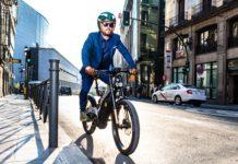 Bici elettrica bultaco albero, movimento in città