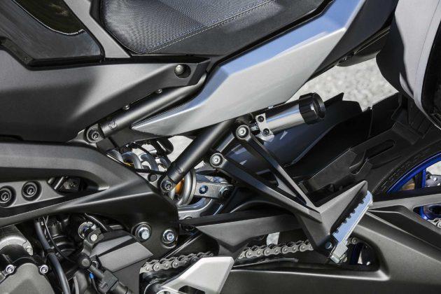 Yamaha Tracer 900 GT 2018 posteriore dettaglio