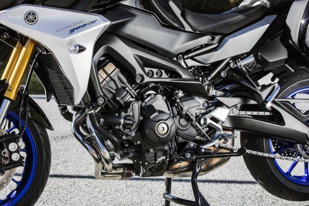 Tracer 900 GT 2018 dettaglio motore